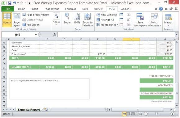 Expense Reports Sample. Sample Conference Expense Report Form 20+ ...