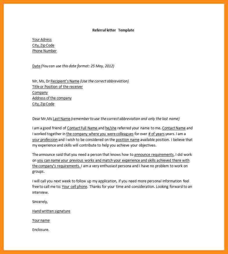 10+ doctor referral letter | resume setups