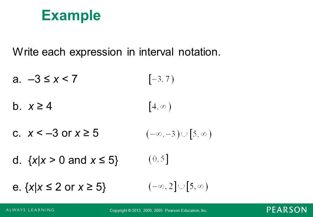 Compound Inequalities - ppt download