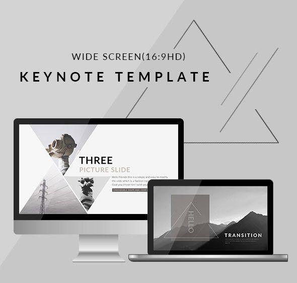 25 Best Simple Keynote Templates | Web & Graphic Design | Bashooka