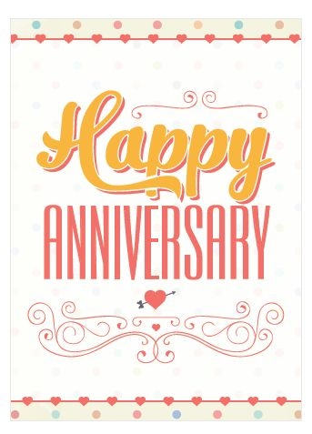Free Printable Anniversary Cards - Romantic, Cute & Ready Now