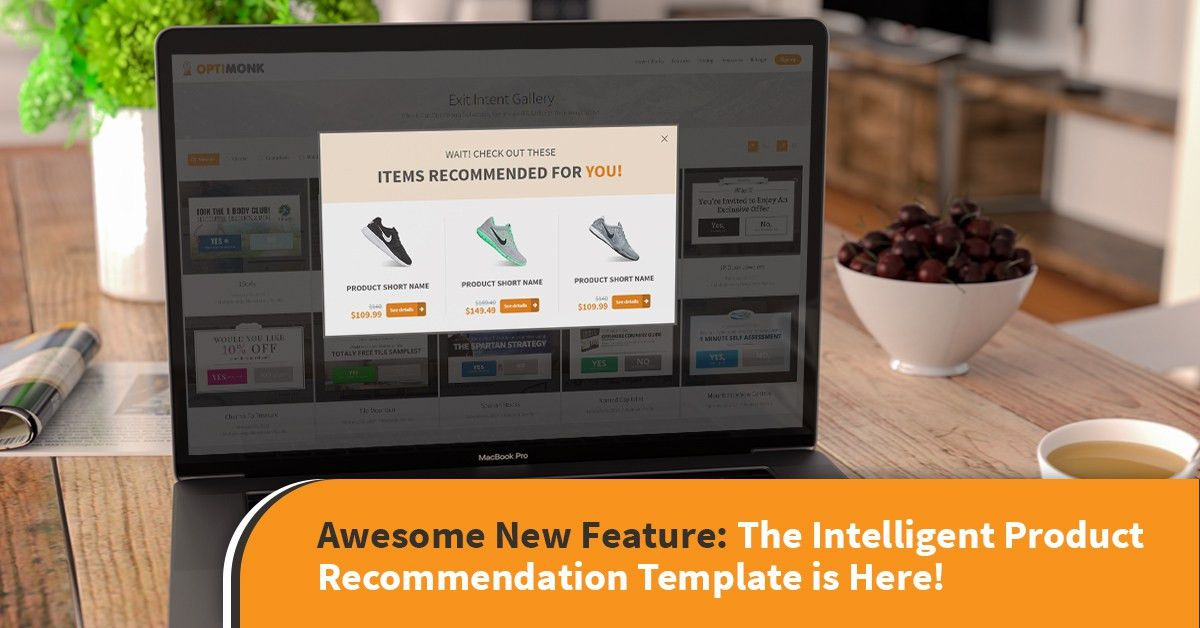 Intelligent Product Recommendation Template for Online Stores