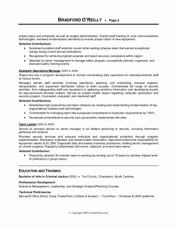 sample military transition resume military experience on resume ...