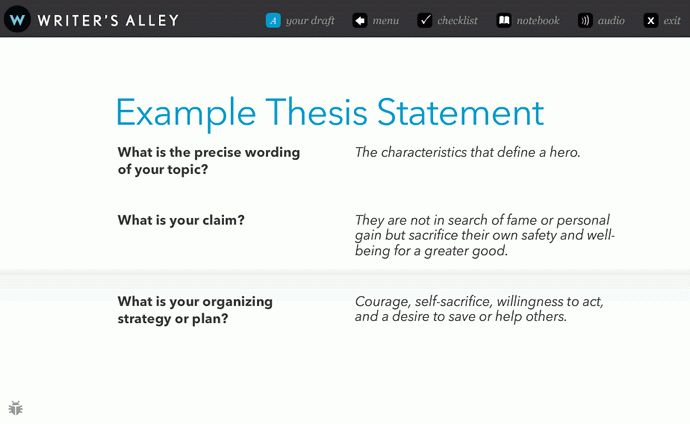 examples thesis statements essays cover letter thesis examples for ...