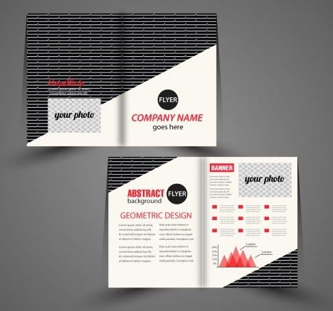Company flyer template vectors stock for free download about (25 ...