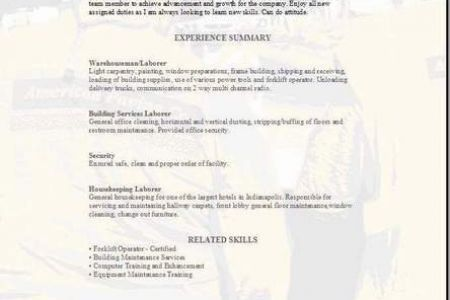 examples resume general labor resume examples resume examples ...