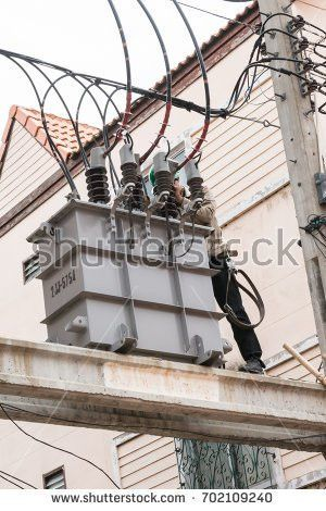 Lineman High Voltage Working Stock Images, Royalty-Free Images ...