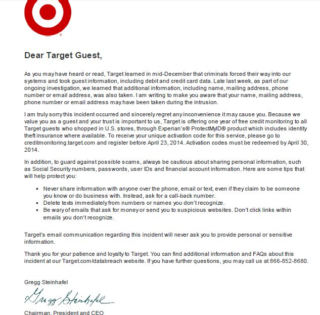 Target data breach part of broader organized attack | ZDNet