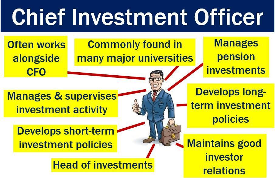 Chief investment officer - definition and meaning - Market ...