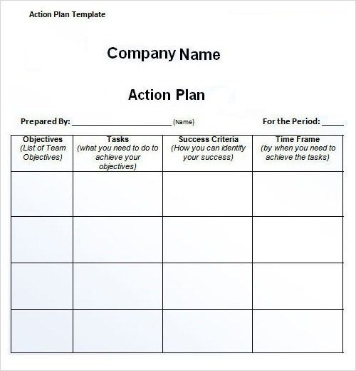 Sample Plan Template - 26+ Download Free Documents in PDF, Word ...