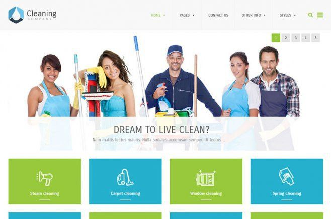 Business WordPress Theme - PixelEmu