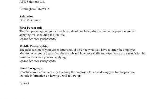 salary requirement in cover letter