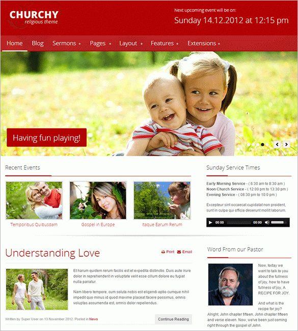 24+ Church Joomla Themes & Templates | Free & Premium Templates