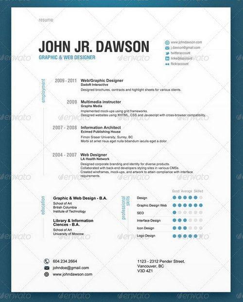 Modern Resume Examples | berathen.Com
