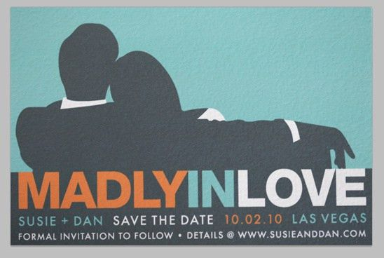 Men Inspired Save The Date Invites Templates