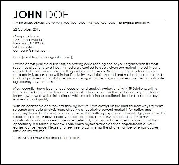 biologist cover letters project developer cover letter 23 cover ...