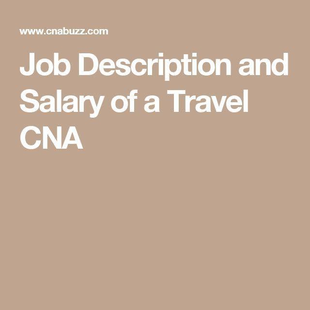 Best 25+ Traveling cna ideas on Pinterest | Nursing resume ...