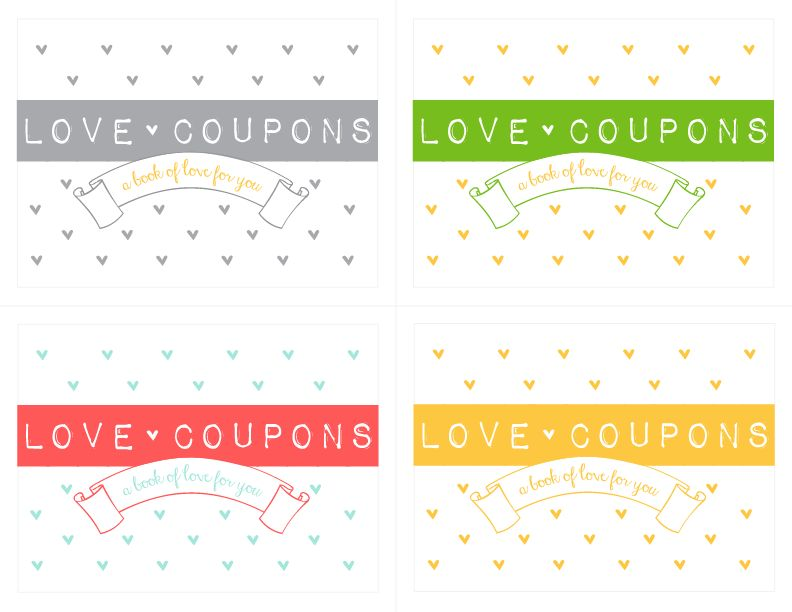 Make your own Love Coupon Notepad! {free download} - Kiki & Company