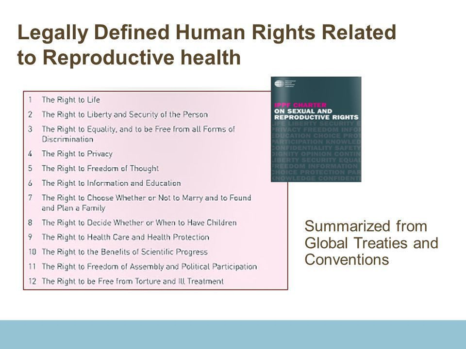 Voluntary, Rights-based Family Planning: Why, What and How? - ppt ...