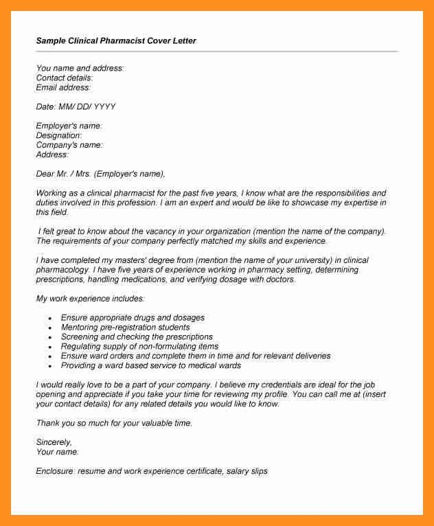 8+ application letter for phamatist | scholarship letter