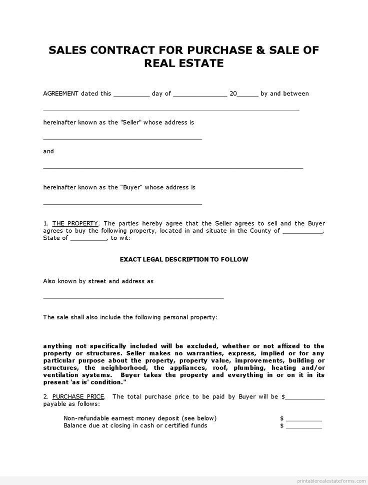 998 best Real Estate Forms images on Pinterest | Free printable ...
