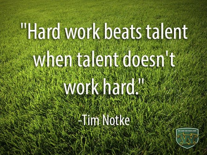 Weed Man's Top 10 Quotes on the Importance of Hard Work – Lawn ...