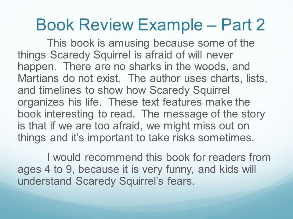 How To Write A Book Review. Book Review - Definition Book review ...