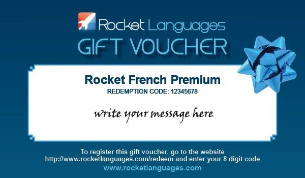Professional Gift Voucher Design Template Example with Blue and ...