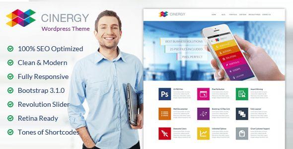 Cinergy - Modern Business Wordpress Theme by BigBangThemes ...