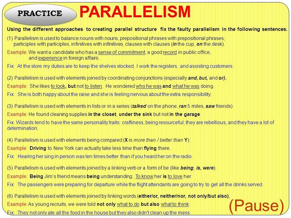 What, Why, and How? 13 PARALLELISM. - ppt video online download