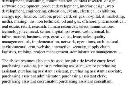 resume templates procurement engineer resume resume project ...