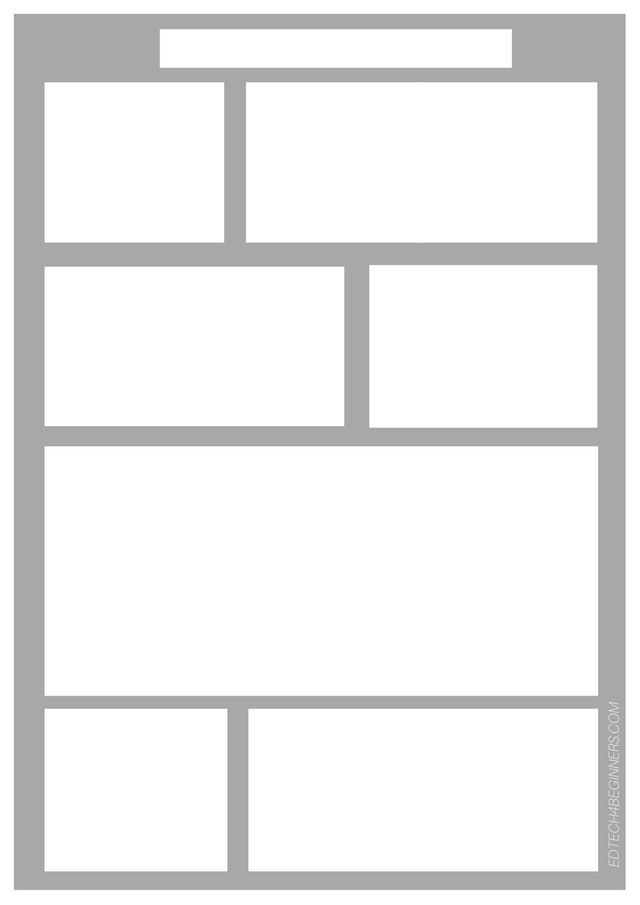 Comic Frames Template. c i c s bucktown art comic template to use ...