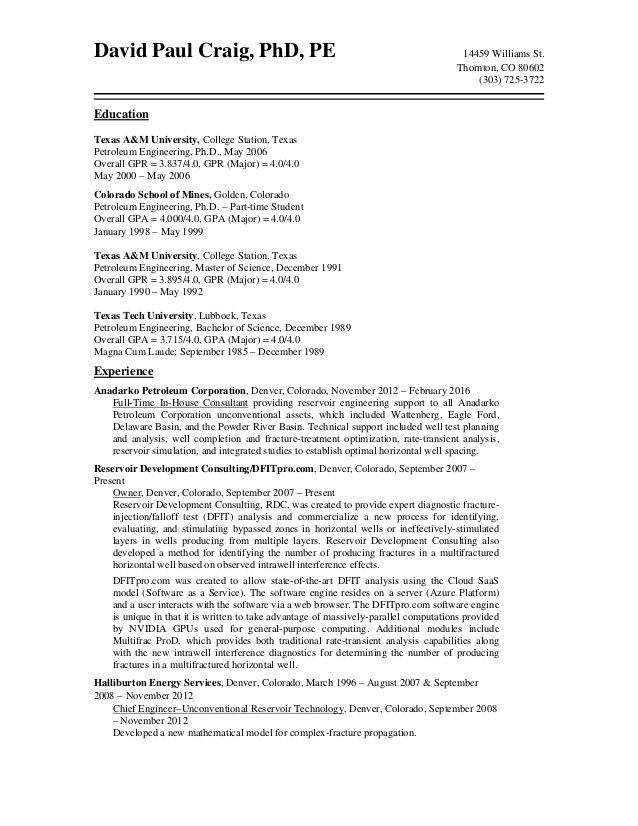 Fine Petroleum Engineer Resume Photos - Example Resume Ideas ...