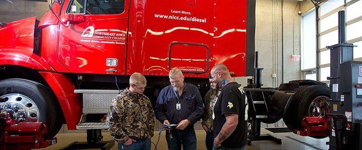 Diesel Mechanics » Northeast Iowa Community College