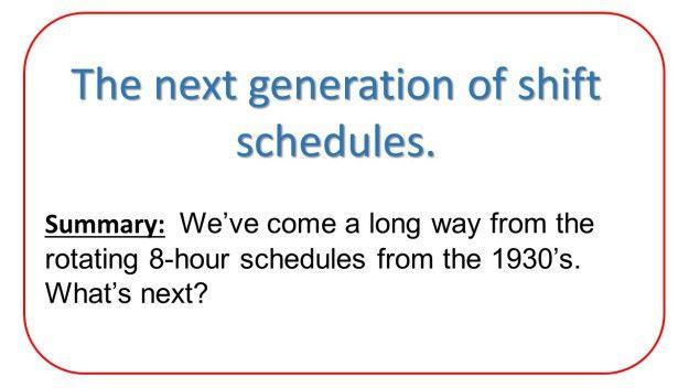 Rotating or Fixed Shifts   Shiftwork Solutions LLC - Shift ...