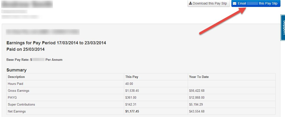 Pay Slips - How to Resend – Payroll Support