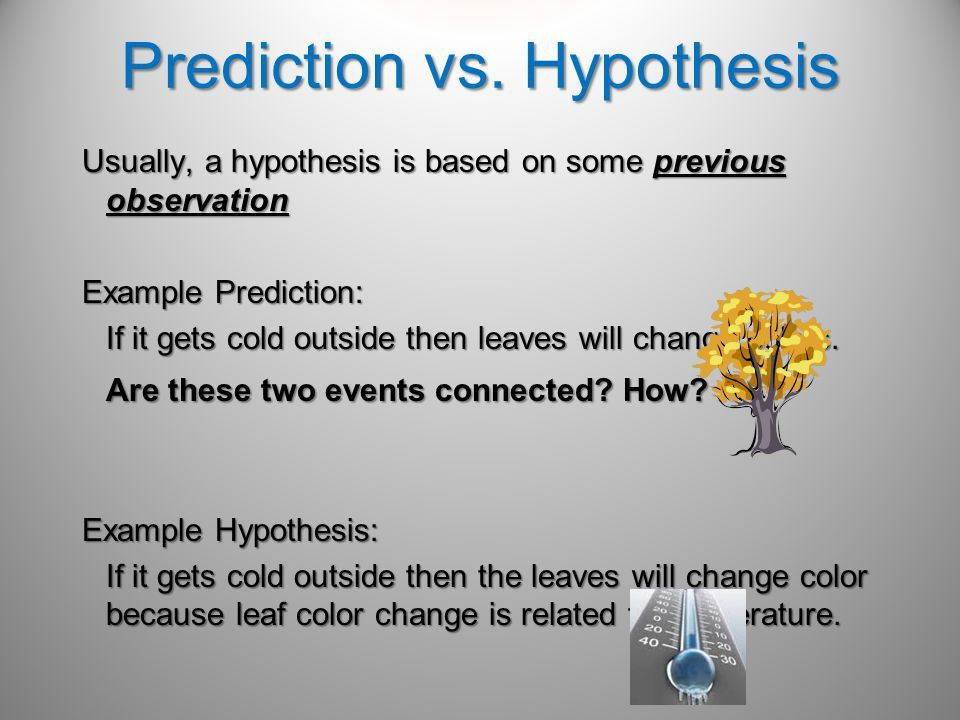 How does a hypothesis begin? - ppt video online download