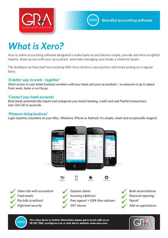 Xero Accounting Services