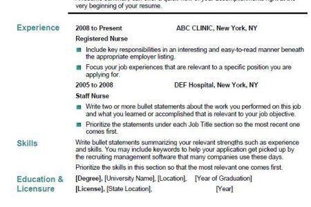 Nursing Informatics Resume Example - Reentrycorps