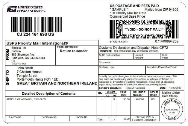 Global Postal Solutions for International Shipping | Endicia