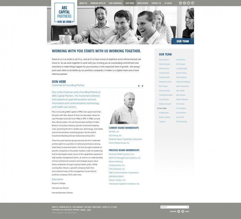 ABS Capital Partners - Jackrabbit Design