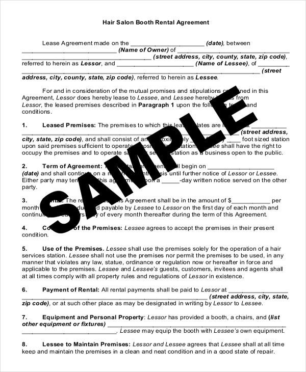 14+ Rental Lease Agreement U2013 Free Sample, Example Format Download .