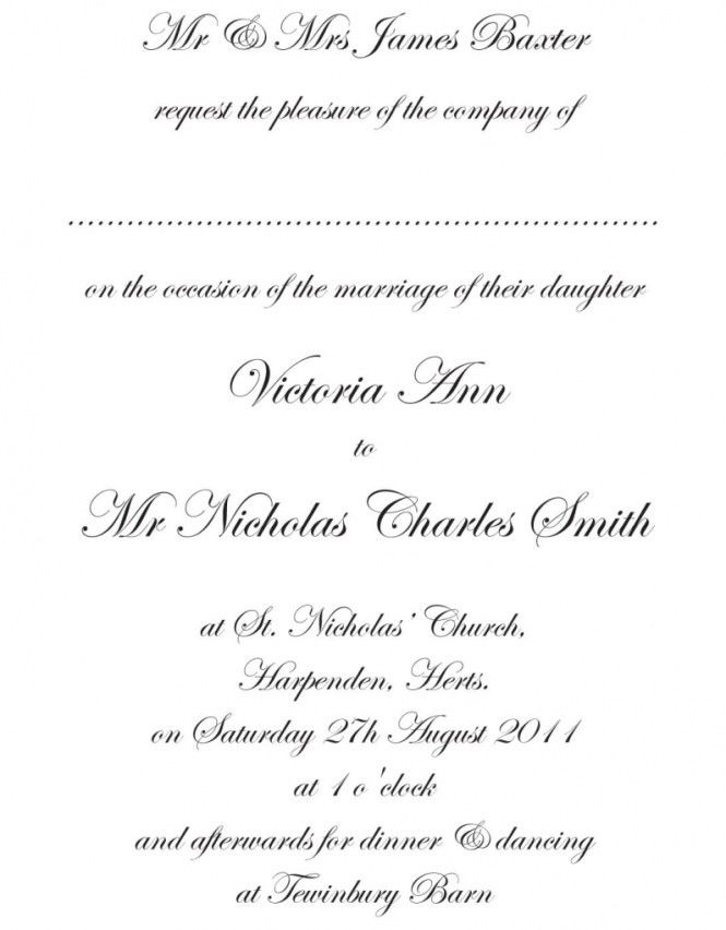 Wedding Invitation Templates Download Word | PaperInvite