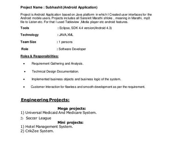 Resume Format Pdf Resume Template For Fresher Free Word Excel - Resume templates free pdf
