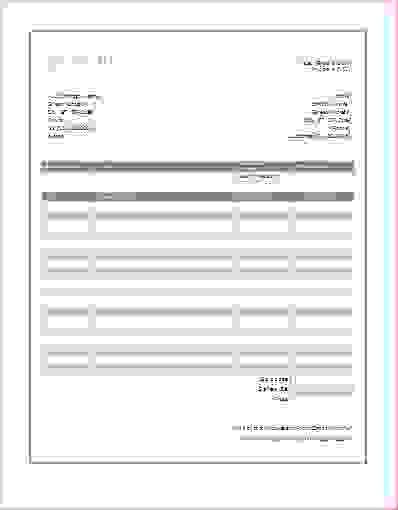 7+ free printable invoice templateReport Template Document ...