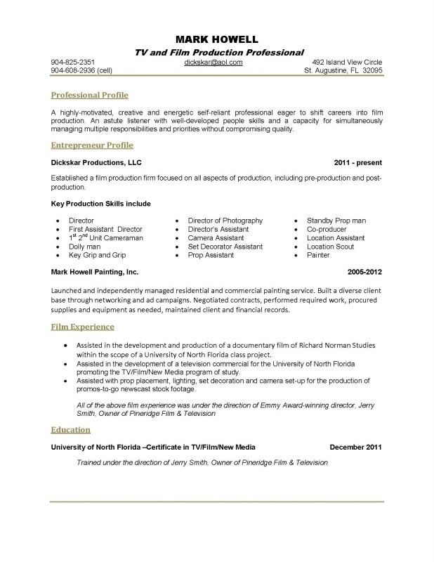 Example Skills Resume. Category 2017 Tags Additional ...