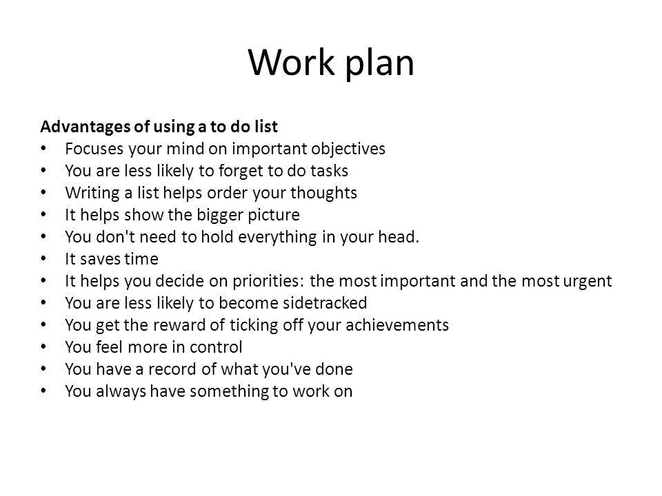 Organise and complete daily work activities - ppt download
