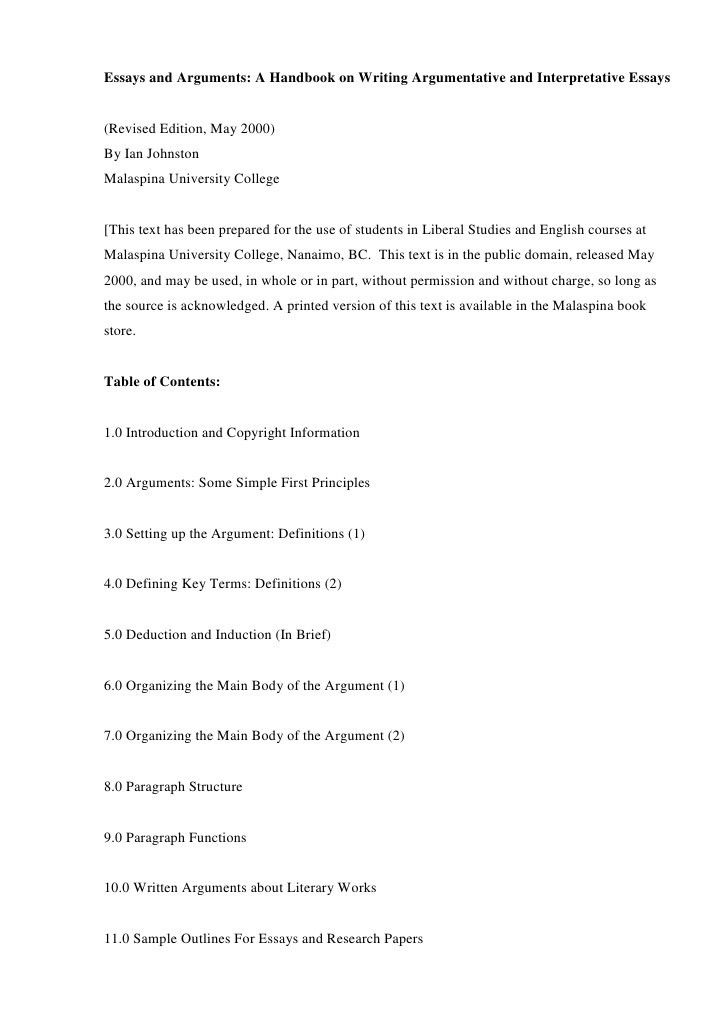 argumentative and interpretative essays. Resume Example. Resume CV Cover Letter