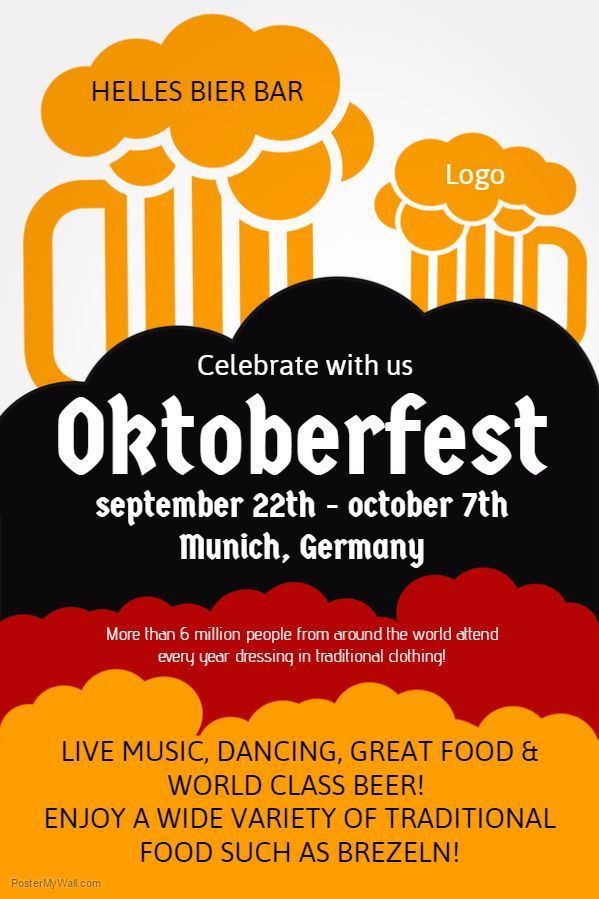 20 best Oktoberfest Flyer Templates images on Pinterest | Flyer ...