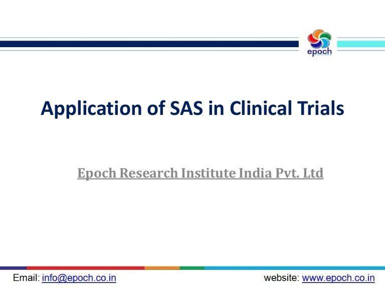 Clinical SAS Programming | SAS Training | Big Data | Hadoop | Busines…